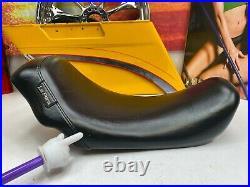 06-17Harley Dyna Low Rider Super Glide Wide Glide Le Pera Bare Bones Solo Seat
