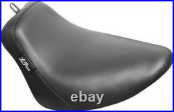 Bare Bones Smooth Vinyl Solo Seat Black Le Pera LYB-007 For 18-20 Harley FXBR