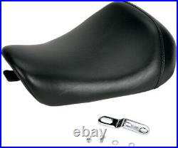 Bare Bones Smooth Vinyl Solo Seat Le Pera LC-006 For Harley XL with4.5g Tank