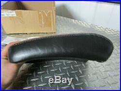 Harley Davidson Blackline / Softail Slim Le Pera Bare Bones Brown Passenger Seat