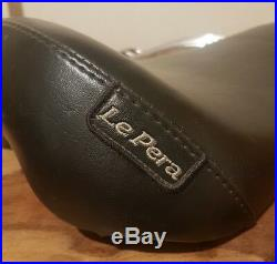 Harley Davidson Le Pera Bare Bones Solo Seat L-006 Superb condition with rack
