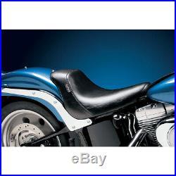 Harley Einzelsitz Solo Sitz Le Pera Bare Bones Softail Fat Boy 06-17 schwarz