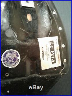 Harley FXR Black Leather Seat Le Pera Bare Bones Basket Weave (rc3)