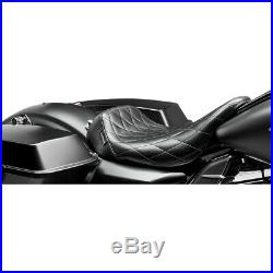 Harley Sitz Einzelsitz Le Pera Bare Bones Raute Touring Trike 08-19