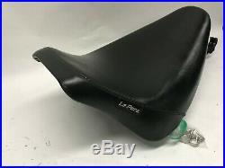 Harley Softail FXST FLST 84-99 Le Pera LN-007 Black Front Bare Bones Solo Seat