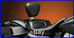 LE PERA Bare Bones Solo Seat Backrest HARLEY FLHT FLHR FLHX FLTR 08-18