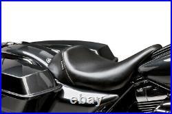 LE PERA Bare Bones Solo Seat Harley Touring