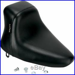 LNU-0Le Pera LNU-007 Black Up Front Bare Bones Solo Seat 84-99 Softail FXST FLST