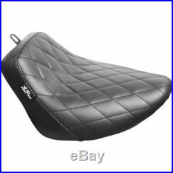 Le Pera Bare Bone Barebone Diamond Stitch Solo Seat Harley 18+ FLSL FXBB Softail