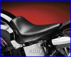Le Pera Bare Bones Biker Gel Solo Seat for 1984-1999 Harley Softail