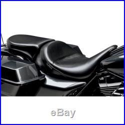Le Pera Bare Bones Deluxe sellino passeggero Harley Davidson Touring 08-15