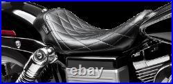 Le Pera Bare Bones Diamond Stitch Solo Seat LK-001DM