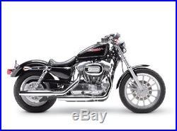 Hupen Abdeckung Chrom Horn Cover für Harley Davidson V Twin Cam Style Custom Evo