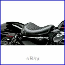Le Pera Bare Bones Pleated Solo Seat Harley 10+ Sportster 1200 XLX XLV 48 72 XL