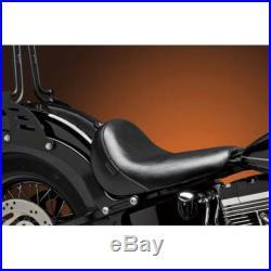 Le Pera Bare Bones Slim Smooth Blk Lsm-007 Seats Rider Seat