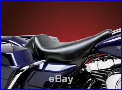 Le Pera Bare Bones Smooth Low Profile Solo Seat Harley Electra Road Glide 97-01