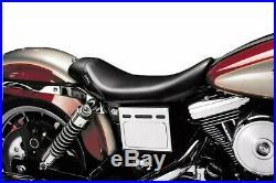 Le Pera Bare Bones Smooth Solo Seat 1996-2003 Harley Dyna Wide Glide FXDWG NIB