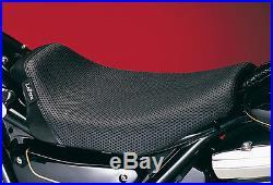 Le Pera Bare Bones Solo Basket Weave For 1982-94 Harley-Davidson FXR