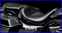 Le Pera Bare Bones Solo Black Smooth Pillion Pad Seat LK-005PDX