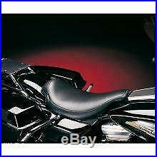 Le Pera Bare Bones Solo Seat Biker Gel Vinyl LGXE-007