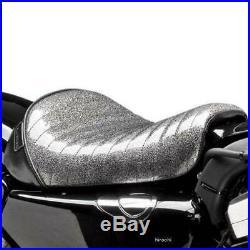 Le Pera Bare Bones Solo Seat Charcoal Pleated (LK-006CMPT)