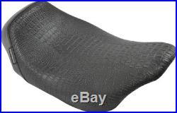 Le Pera Bare Bones Solo Seat Crocodile LK-005CR BLK