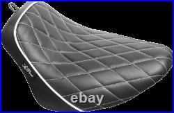 Le Pera Bare Bones Solo Seat Diamond Black White LY-007DMWTP