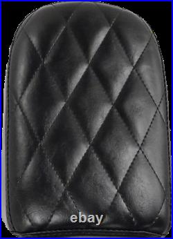 Le Pera Bare Bones Solo Seat Diamond Pleated Pillion Pad 6.5 w LK-006P DM