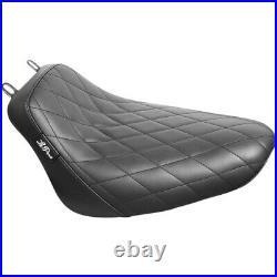 Le Pera Bare Bones Solo Seat Diamond Softail'18+ (Black) LYX-007DM