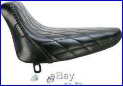 Le Pera Bare Bones Solo Seat Diamond Stitch LN-007DM