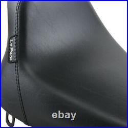 Le Pera Bare Bones Solo Seat Gel Softail'84-'99 (Black) LN-007