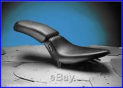 Le Pera Bare Bones Solo Seat LGN-007 Biker Gel Vinyl