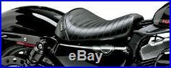 Le Pera Bare Bones Solo Seat Pleated For 2.1 Gallon Tank LK-006PT