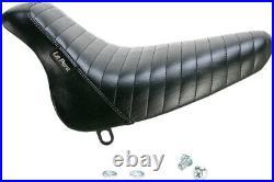 Le Pera Bare Bones Solo Seat Pleated LX-007PT