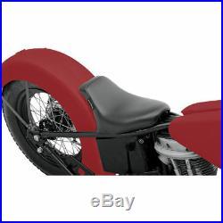 Le Pera Bare Bones Solo Seat with Biker Gel for Custom Rigid Harley Bobber