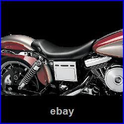 Le Pera Bare Bones Vinyl Seat for 1996-2003 Harley Davidson FXD Dyna models