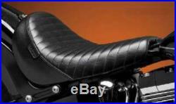 Le Pera Bare Bones-blklne/slim Pleated Lks-007pt Seats Rider Seat