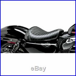 Le Pera Black Pleated Bare Bones Solo Seat 10-14 Harley Sportster 1200X/V
