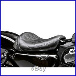 Le Pera Diamond Bare Bones Solo Seat 2010-19 Harley 48/72 Sportster XL1200X/V