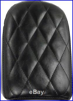 Le Pera Diamond Pleated Pillion Pad 6.5 w Bare Bones Solo Seat