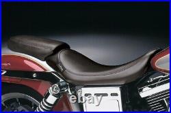 Le Pera L-001 Bare Bones Solo Seat, Vinyl Harley Dyna Sturgis FXDB, Super Gli
