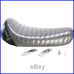 Le Pera L-006BKMFPT Charcoal Metalflake Bare Bones Solo Seat Harley XL 82-03