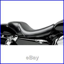 Le Pera LCK-006 Bare Bones Smooth Driver Solo Seat Harley XL 07-09 4.5 Tank
