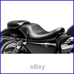 Le Pera LCK-006P Bare Bones Smooth Pillion Rear Seat Harley XL 07-09 4.5 Tank