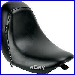 Le Pera LD-007 Bare Bones Solo Seat, Vinyl Harley Softail Deuce FXSTD, Softai