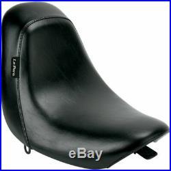 Le Pera LD-007 Black Smooth Bare Bones Solo Seat Harley Deuce FXSTD 00-07