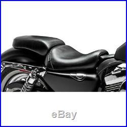 Le Pera LF-006P Bare Bones Pillion Seat Harley XL 04-06 10-17 with 3.3 Gallon Tank