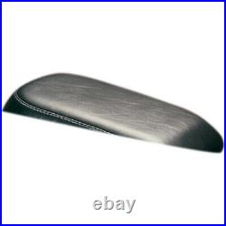 Le Pera LGN-007P Black Smooth Bare Bones Pillion Rear Seat withGel 84-99 FXST FLST