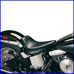 Le Pera LGXE-007 Bare Bones Solo Seat, Biker Gel Vinyl