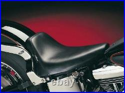 Le Pera LGXE-007 Bare Bones Solo Seat Biker Gel Vinyl